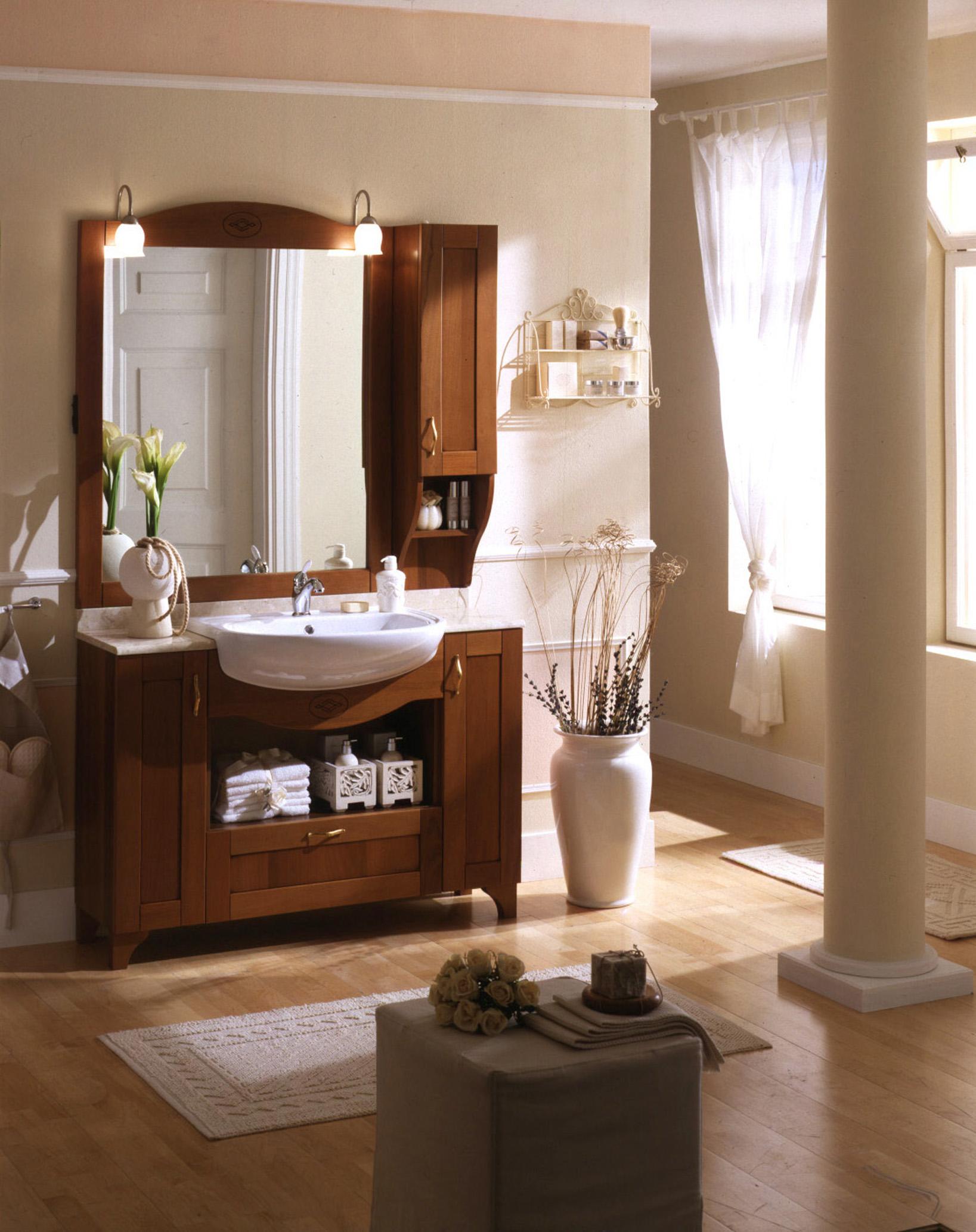 Arredo bagno di pentima mobili - Arredo bagno stile classico ...