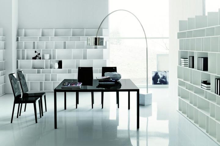 Foto Ufficio Moderno : Arredamento ufficio moderno di pentima mobili