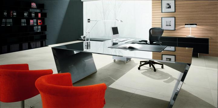 Arredamento ufficio moderno di pentima mobili for Arredo ufficio tecnico