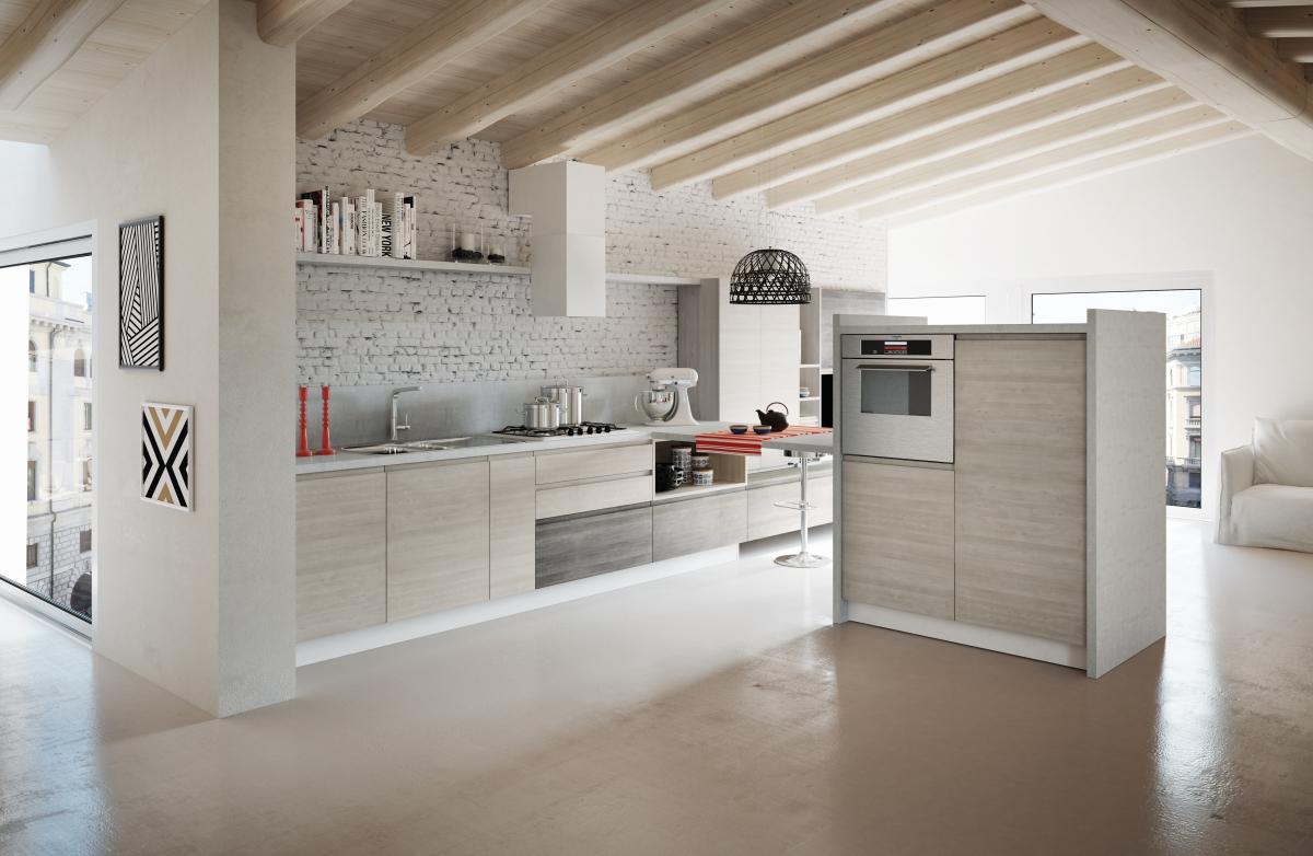 Arredamento cucina moderna di pentima mobili for Mobili arredo cucina