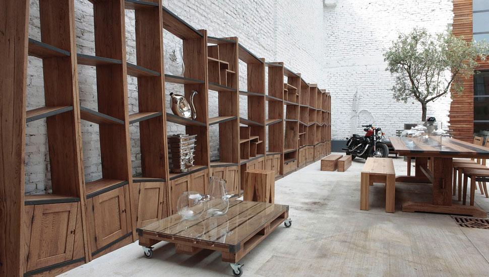 Collezione legno urban style di pentima mobili - Mobili caramel cucine ...